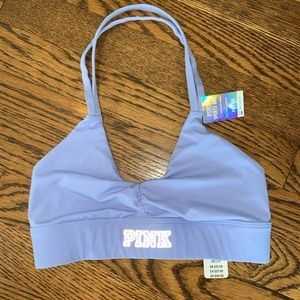 NWT PINK VS ultimate Sports Bra light support XS
